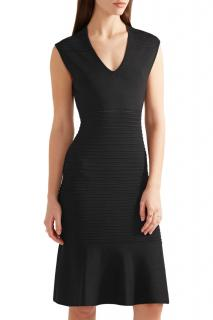 Michael Michael Kors Black Stretch-Knit Sleeveless Dress