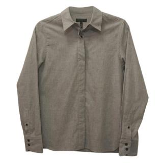 Rag & Bone Grey Cotton Shirt