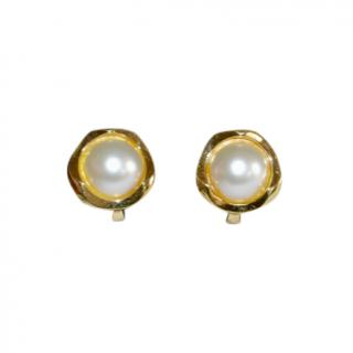 Bespoke Vintage Gold Clip-On Earrings