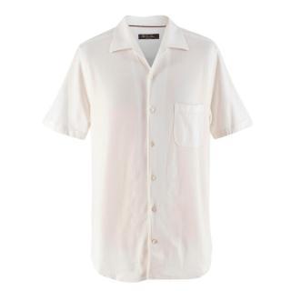 Loro Piana White Short Sleeve Shirt