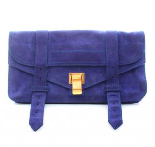 Proenza Schouler PS1 Suede Clutch Bag