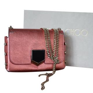 Jimmy Choo Petite Lockett Shoulder Bag