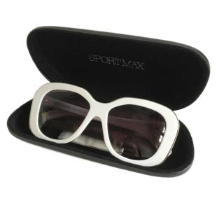 Sportmax Oversized Sunglasses