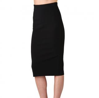 Diane von Furstenberg Marta Black Pencil Skirt