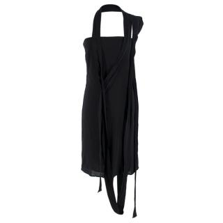Maison Margiela Black Strappy Dress