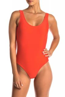 Onia Flame Kelly One-Piece Swimsuit