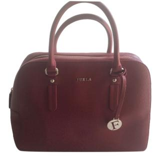 Furla Red Leather Bag