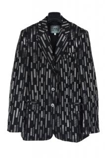 Versace Jeans Couture Printed Blazer