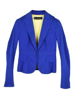 Dsquared2 Blue Cropped Jacket