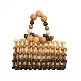 Cult Gaia Cora Beaded Handbag