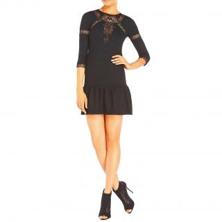 The Kooples Lace-Insert Matlesse Dress