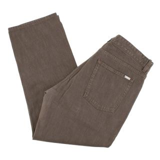 Loro Piana Men's Brown Jeans