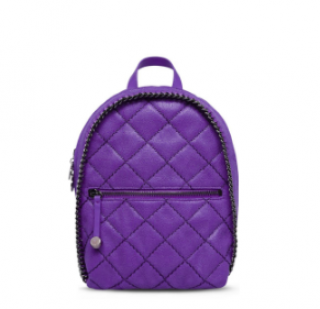 Stella McCartney Shaggy Deer Mini Quilted Backpack