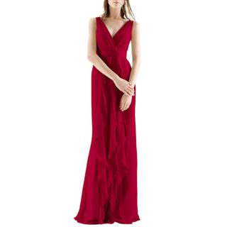 White by Vera Wang Red Gown