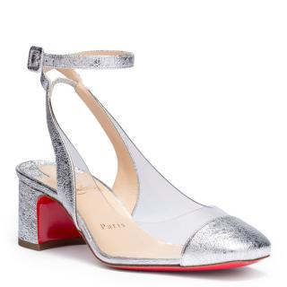 Christian Louboutin Asticocotte Leather & PVC Pumps