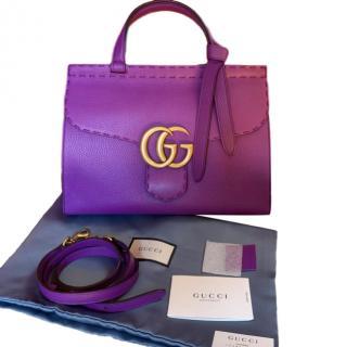 Gucci Purple Leather Bag