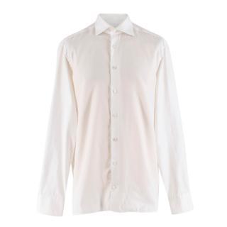 Van Laack Royal Men's White Cotton Shirt