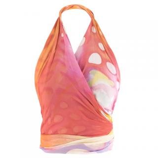 Roccobarocco Multi-coloured Printed Lightweight Scarf