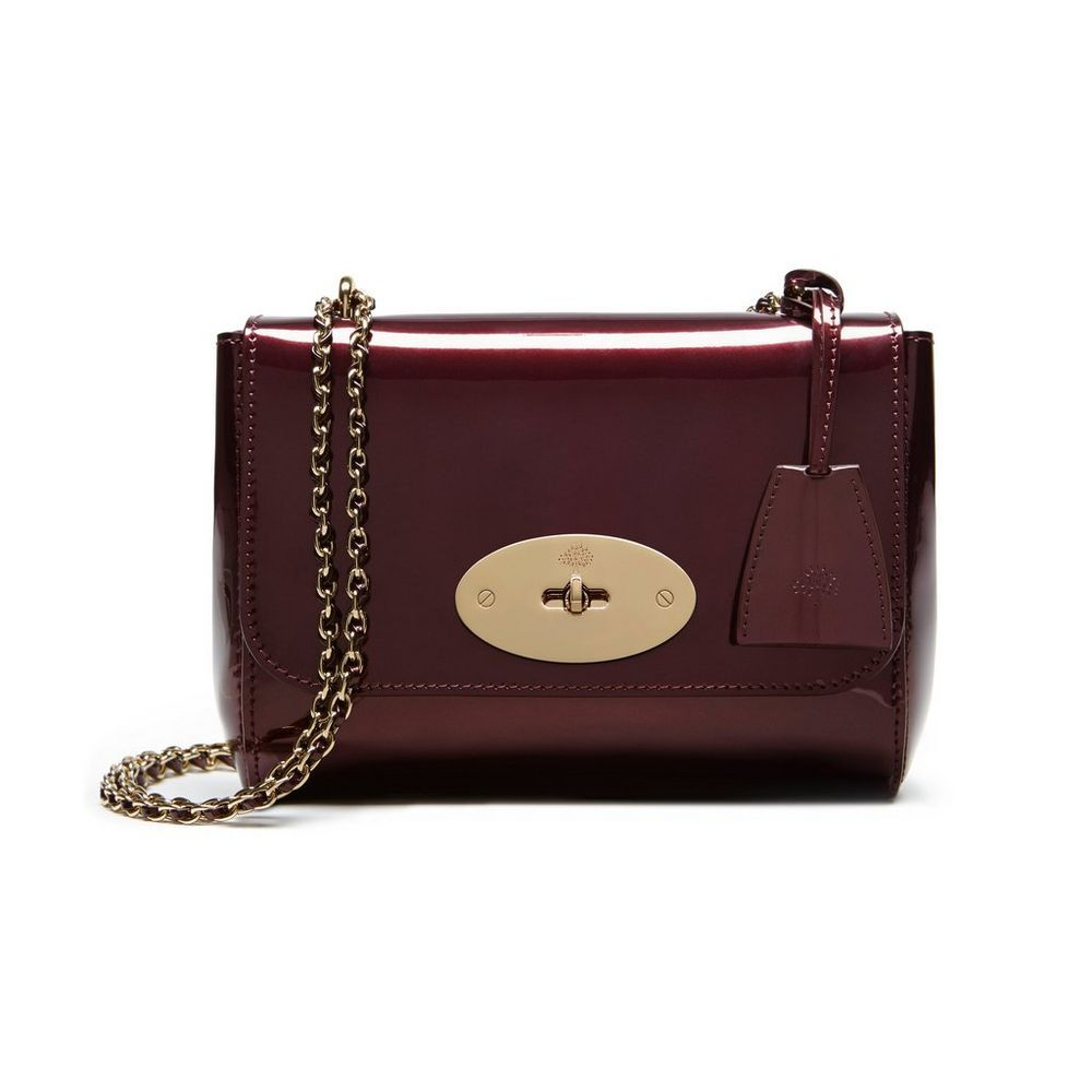208d72b5567 Mulberry Lily Mini Mirror Leather Crossbody Bag | HEWI London