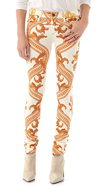 Citizens Of Humanity Avedon Chain Print Jeans