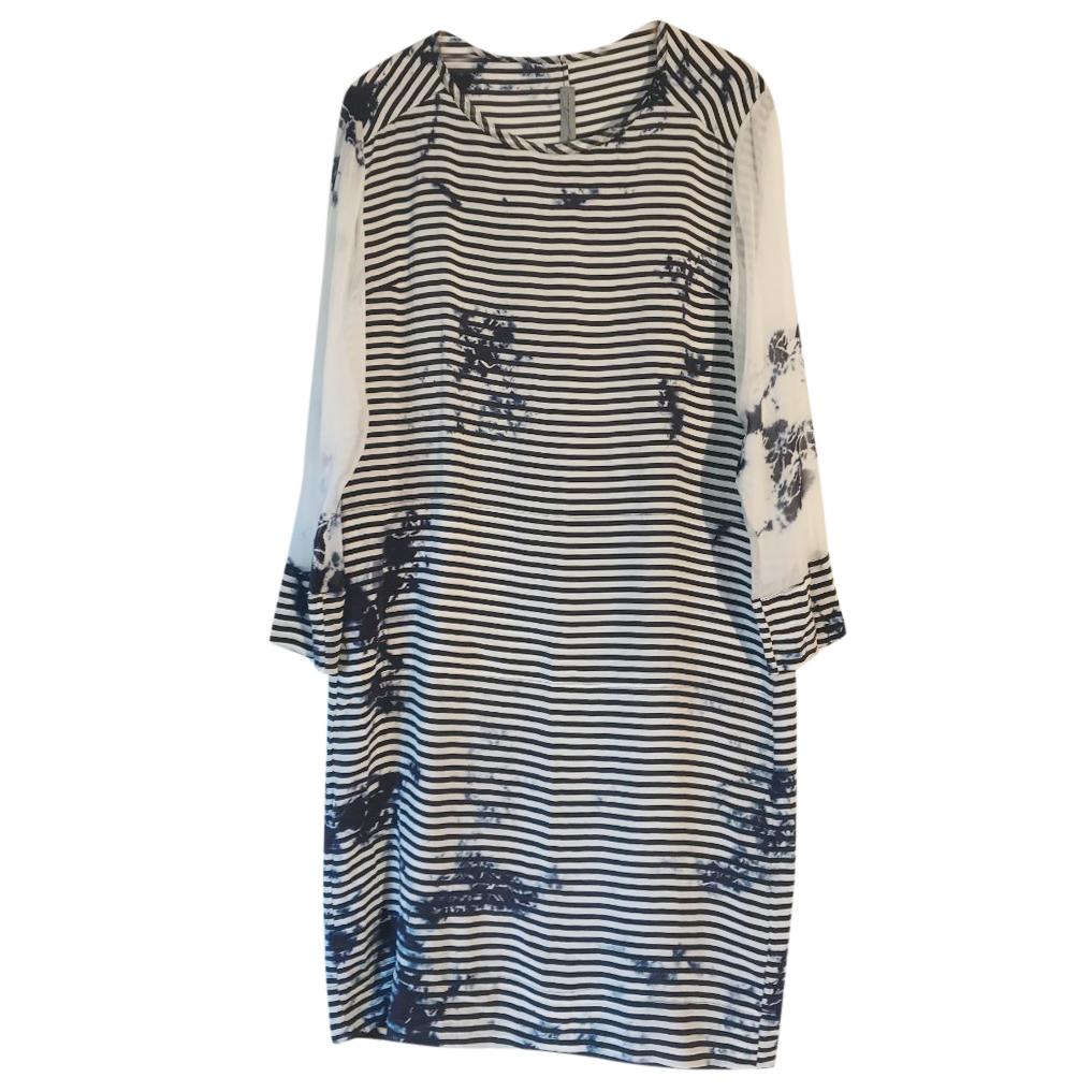 Raquel Allegra Silk Shift Dress