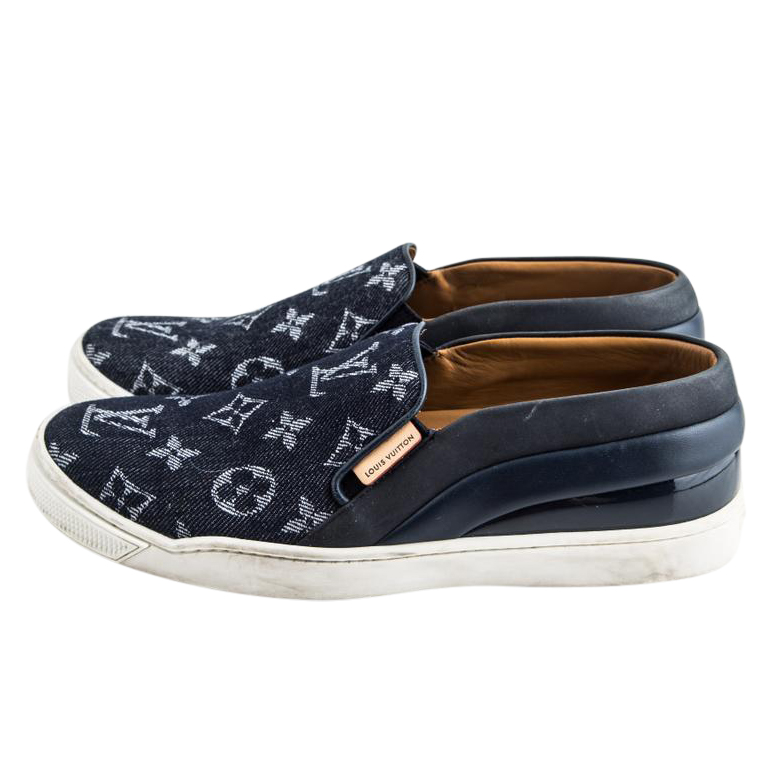 Louis Vuitton Tempo Monogram slip-on trainers