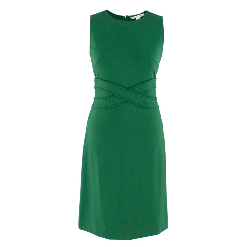 Diane von Furstenberg Green Shift Dress