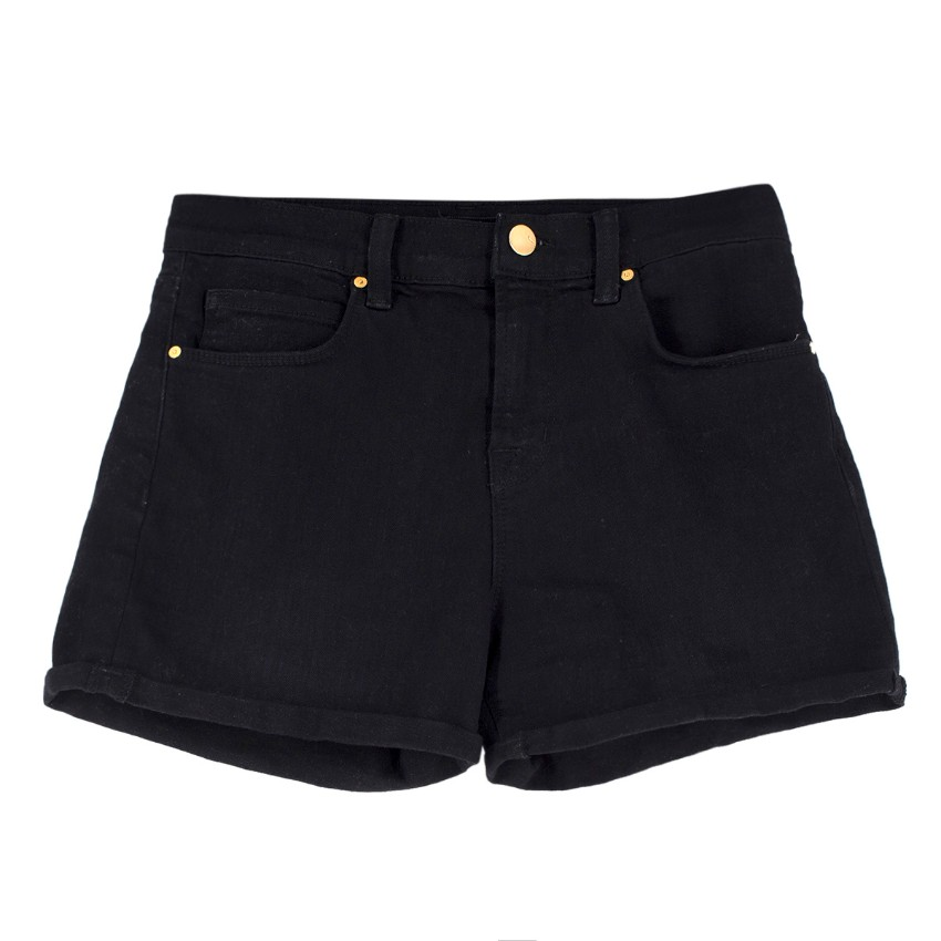 J Brand Black Denim Shorts