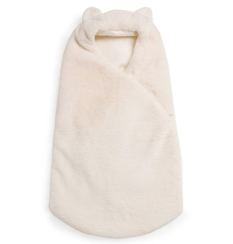 Bonpoint Balou Faux Fur Baby Sleeping Bag
