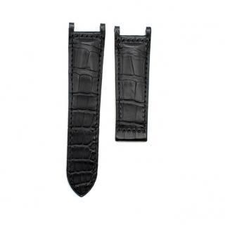 Cartier Black Alligator Leather Watch Strap