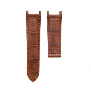 Cartier Light Brown Alligator Leather Watch Strap