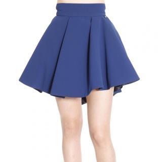 Elisabetta Franchi Blue Asymmetric Skirt