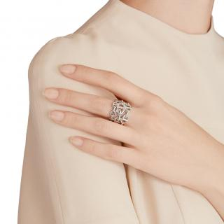 Hermes Chaine D'ancre Enchainee Ring