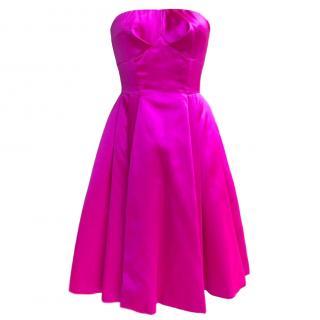 725b633aacf Dolce   Gabbana Strapless A-line Tea Dress