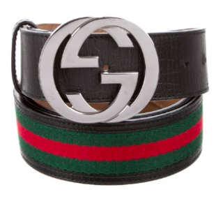 Gucci Interlocking GG Web Belt