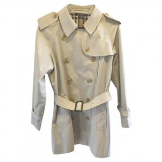 Burberry Belted Beige Trench Coat