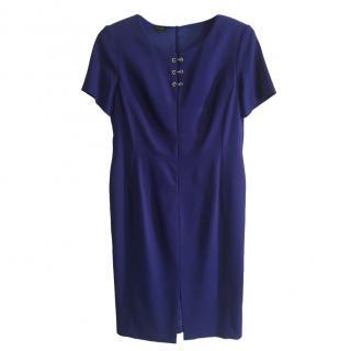 Escada Blue Shift Dress