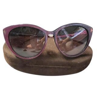 Tom Ford Gina Cat Eye Sunglasses