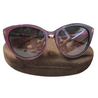 Tom Ford Gina Cat Eye Sunglasses