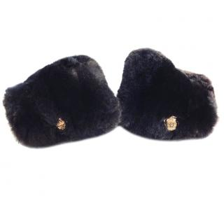 Chanel Fur Cuffs