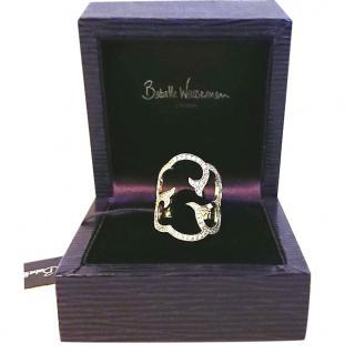 Babette Wasserman Silver Cloud Ring