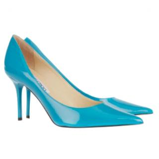 Jimmy Choo Turquoise Pointed Toe Pumps