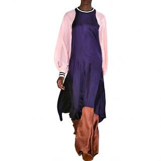 Roksanda Vasara Purple & Pink Silk-crepe Dress