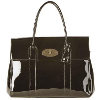 Mulberry Metallic Bentley Heritage Bayswater Shoulder Bag