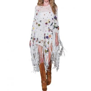 Emilio Pucci Poppy Rock Crochet Cape