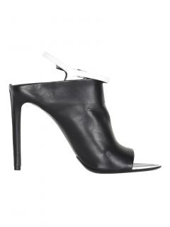 Balenciaga Leather Covered Sandals
