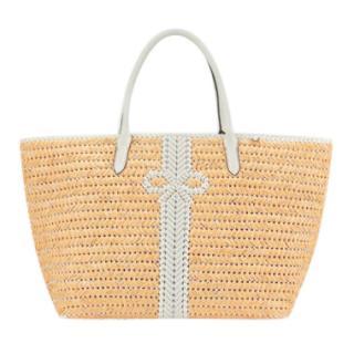 Anya Hindmarch Neeson Basket Tote Bag