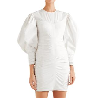 Isabel Marant May Ruched Cotton Dress