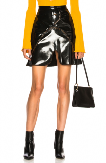 Ellery Milky Way Black Mini Skirt