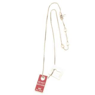Christian Dior 'Secret Dior Hotel' Pendant Necklace
